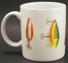 Hallmark Fishing Lures Mug Fisherman  - $19.99