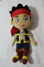 """15"""" Disney Store Jake And the Neverland Pirates Plush Toy Doll Lovey Friend  - $19.57"""