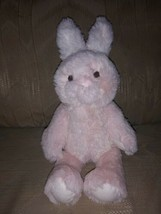 "Pottery Barn Kids Pink Easter Bunny Plush 14"" Rabbit 2018 Stuffed Animal... - $15.04"