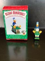 Hallmark Merry Miniatures Donald's Passenger Car #4 In Series 1998 - $7.50