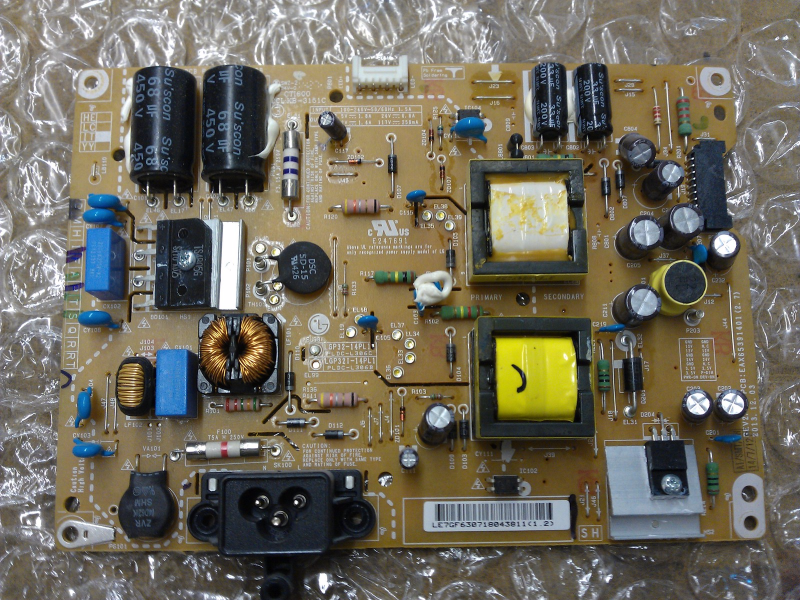 EAY63071804 Power Supply Board From LG 32LB5800-UG.BUSWLJM. LCD TV
