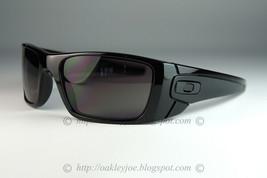 Oakley Fuel Cell Sunglasses OO9096-01 Polished Black Frame W/ Warm Grey ... - $68.30