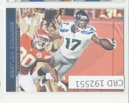 2012 Panini Gridiron Braylon Edwards WR Seattle Seahawks #169  192551 - $1.86