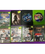 Original Xbox Sports Game Assorted Lot Used Baseball Madden Wrestling NH... - $12.86