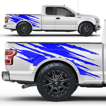 Vinyl Decal Bed Side Logo Wrap Kit for 2014-17 Chevy Silverado 1500//2500 Silver