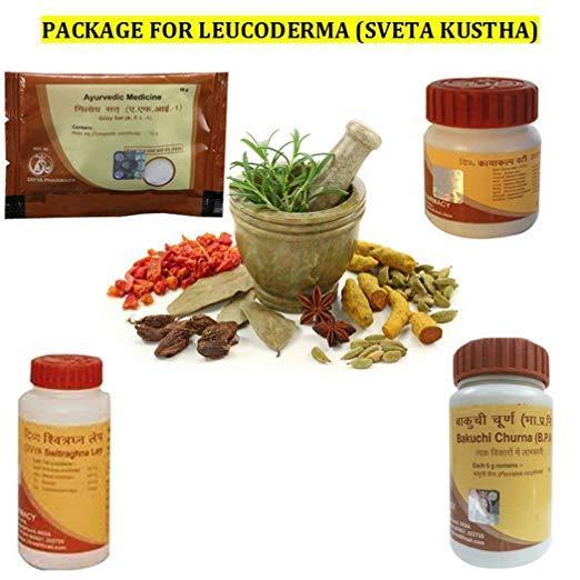 Patanjali Divya Package for LEUCODERMA (SHWET KUSTHA)