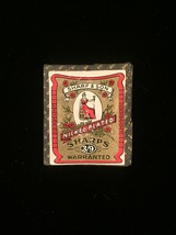 Vintage RARE Sharp & Son nickel plated3/9 sharps needle pack image 1