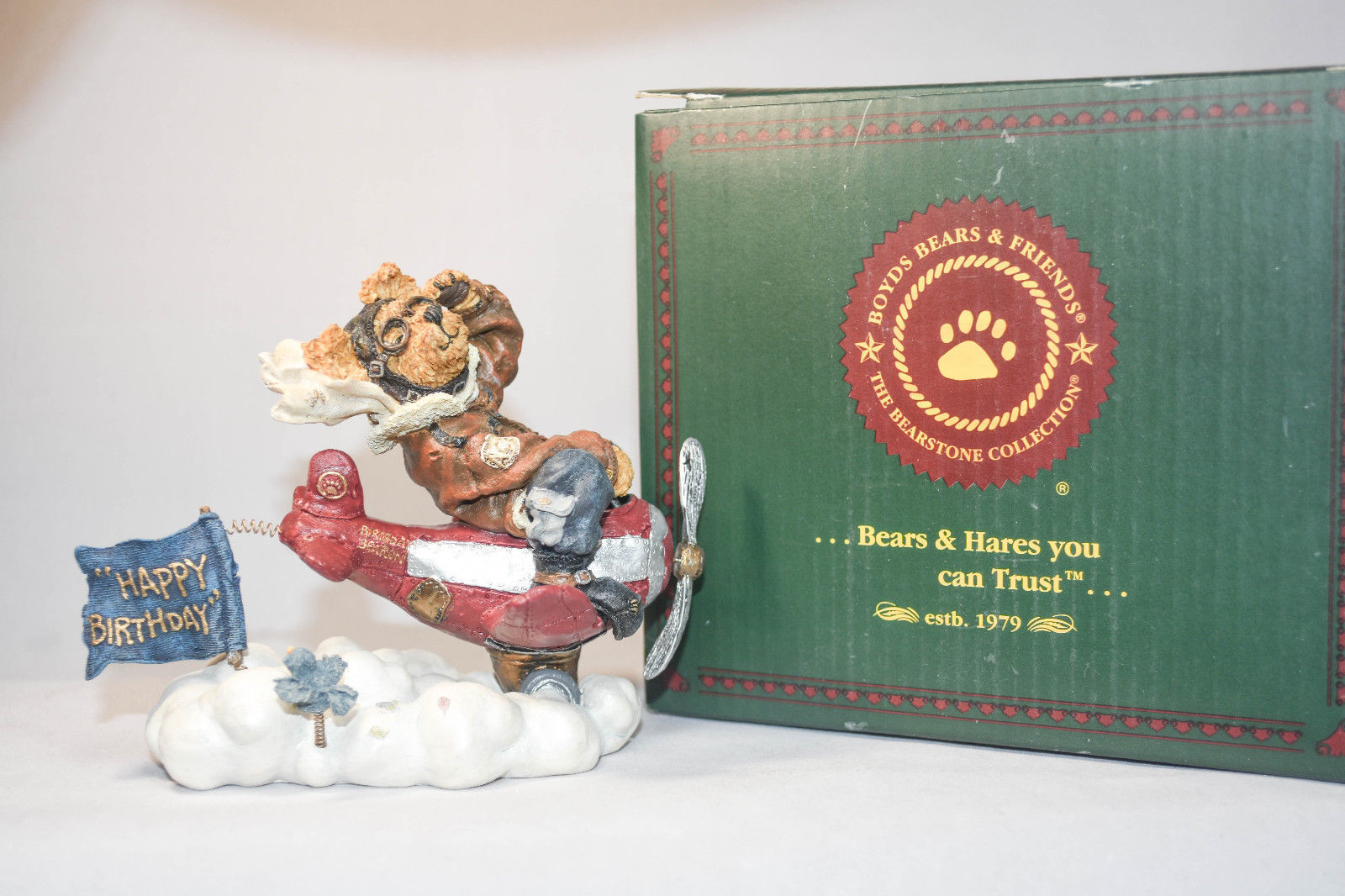 Boyds Bears: Ace Armstrng - Style 227752 - Flying High - 1st Edition - 1E/4113 image 4