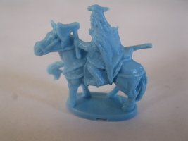 2003 Age of Mythology Board Game Piece: Norse Jarl Unit - Light Blue - $1.00