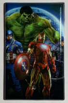 Comics Heroes iron-man Hulk Light Switch Outlet Toggle Wall Cover Plate Home dec image 4