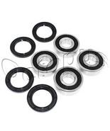 YAMAHA YFM 400 FW KODIAK ATV Bearings & Seals Kit Both Sides Front Wheel... - $26.99
