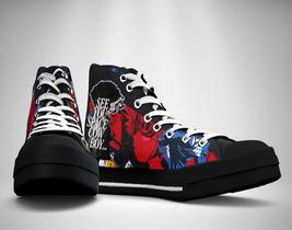 cowboy bebop Canvas Sneakers Shoes - $49.99