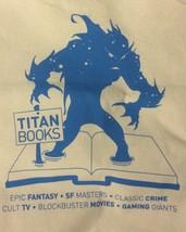 NYCC Exclusive  TITAN BOOKS Canvas Tote Bag - $7.92