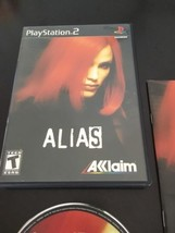 Playstation 2 : Alias / Complete And Clean - $11.00