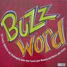 BUZZ WORD Family Board Game [New] - $29.99