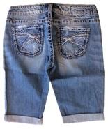 SILVER Jeans Sale Buckle Low Rise Tuesday Denim Jean Stretch Bermuda Sho... - $19.97