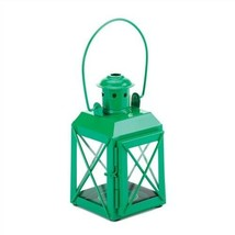 Railroad Green Candle Lantern - $6.82