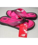 New Balance Womens Pink Plush Foam Thong Sandal New with Tags Size 6 - $19.79