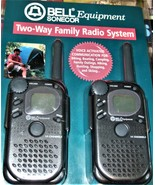 Walkie Talkies -Two-Way Family Radio System By Bell Equipment Sonecor - $24.90