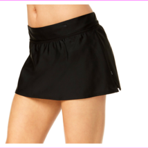 Reebok Women's Full bottom coverage Chlorine-resistant fabric Solid Swim Skirt  - $11.67