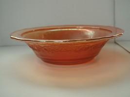 Carnival Marigold Normandie Bouquet Lattice fruit bowl - $7.91