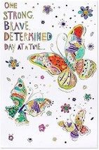 American Greetings Butterflies Thinking Of You Card With Foil (6096182) - $13.47