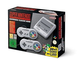 NEW in SEALED Box NINTENDO MINI CLASSIC Entertainment System Handheld 21... - $109.49