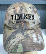 Timkin Company Bearings Transmissions Camo Strapback Baseball Cap Hat  - $14.23