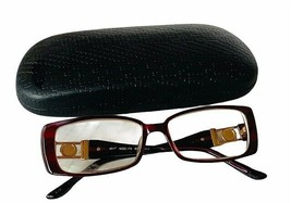 Oliver Peoples Tura Womens Eyeglasses Frame vtg glasses pearl gems frost... - $28.98