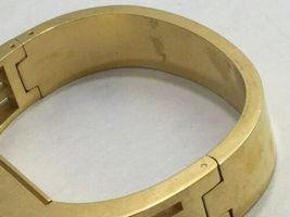 Tory Burch FitBit Gold Tone Holder Hinge Bangle Case Band Bracelet BT2426 Flex image 4