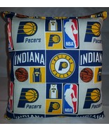 Pacers Pillow Indiana Pacers Pillow NBA Handmade in USA - $9.97