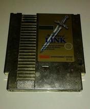 Zelda II: The Adventure of Link Gold (Nintendo Entertainment System, 1988) - $18.65
