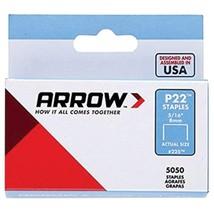 Arrow 225 P22 Plier Staples, 5,050 pack (5/16 Inches) - $21.23