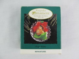 Hallmark Keepsake Ornament Forty Winks 1993 Christmas Miniature - $9.89