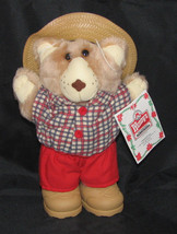 Wendy's Boone Furskin Bear 1986 Vintage 7 Inches - $7.49