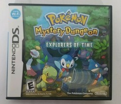 Pokemon Mystery Dungeon: Explorers of Time (Nintendo DS, 2008) - $24.74