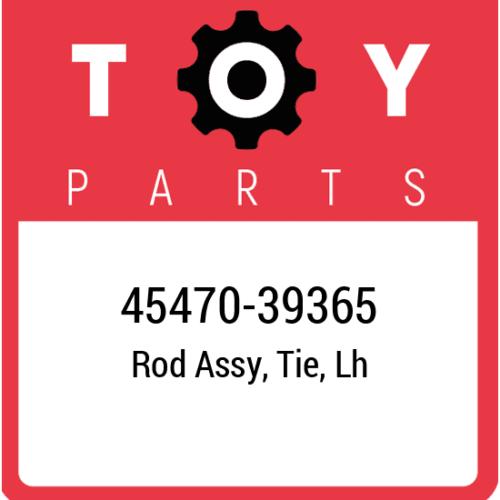45470-39365 Toyota Rod Set Tie Lh, New Genuine OEM Part