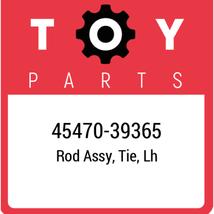45470-39365 Toyota Rod Set Tie Lh, New Genuine OEM Part - $53.36