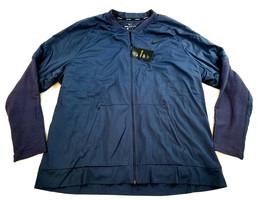new NIKE Golf men jacket coat Aerolayer 892132 blue XXL MSRP $250 - $65.99