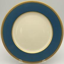 Lenox Tuxedo Turquoise Dinner plate  - $85.00