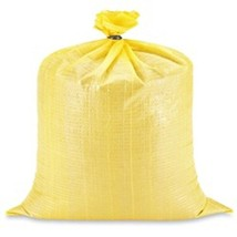 "25 XLarge Yellow Sandbags - 30 x 36"" Flood Bags... - $71.24"