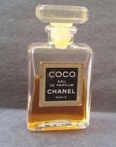 COCO Chanel EDP 4ML Glass stopper Parfum mini miniature perfume - $15.99