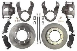 Ruffstuff Dana 70 Chevy Dually Axle Disc Brake Kit (Without Steel Braided) (With - $369.27