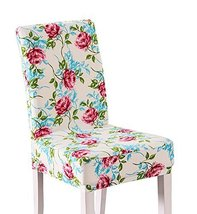 Furniture Protector Chair Cover Flowers Pattern - $13.04
