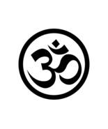 """Om DECAL Symbol Yoga Namaste Hindu Buddha Ganesh 5"""" OR 10"""" OR 12"""" STICKER  - $5.93+"""