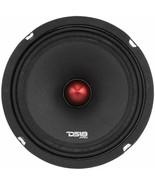 """DS18 - PRO-X8BM - 8"""" Midrange Red Aluminum Bullet Speaker - 8 Ohms - $59.35"""