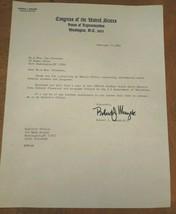 Robert J. Mrazek Autograph - Signed 1983 Congressional Letter - $24.75