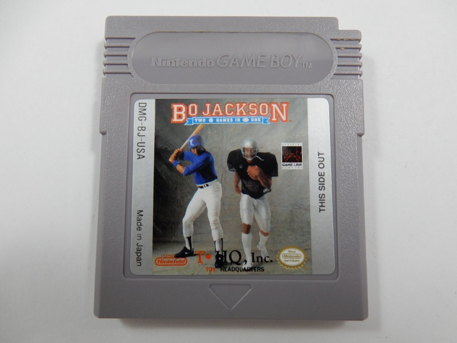 Primary image for Bo Jackson: Two Games In One (Nintendo Game Boy, 1991) CARTRIDGE ONLY