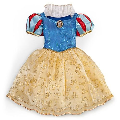 NEW Disney Store Princess Snow White Costume Dress Sz 9/10 - $59.99
