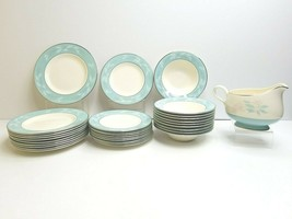 Homer Laughlin Romance (10) Dessert (10) Bread Plates (10) Fruit Bowls (1) Gravy - $168.17